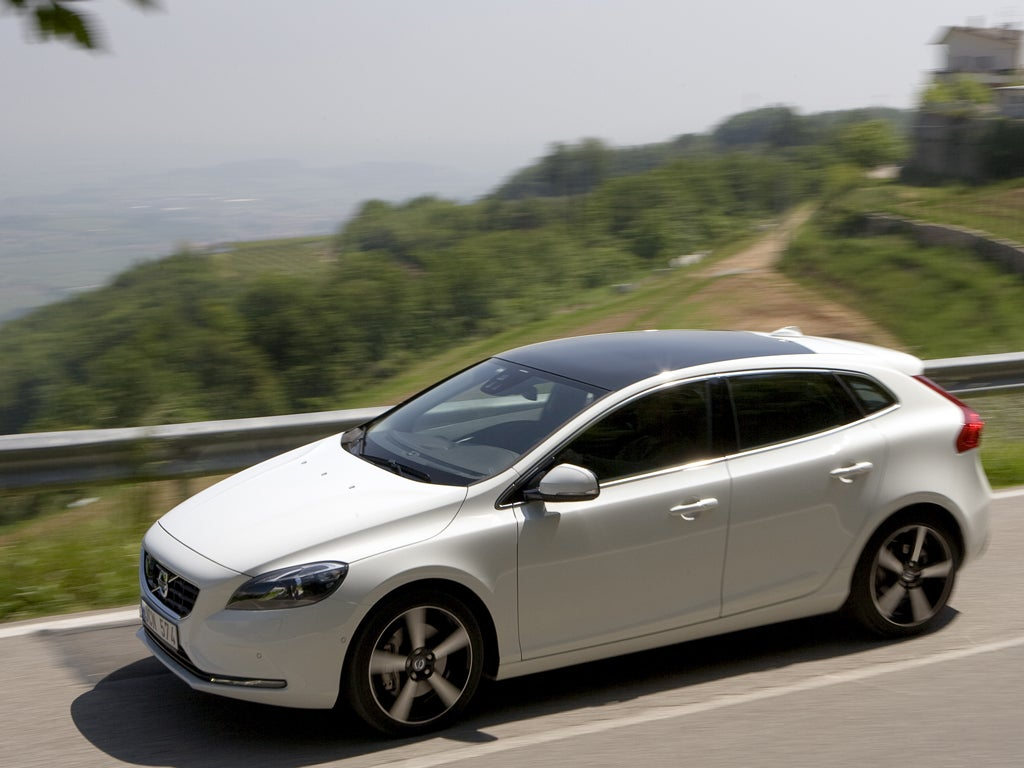 Volvo V40 D2 First Drive The Independent 5 Cylinder Engine Problems Volv A