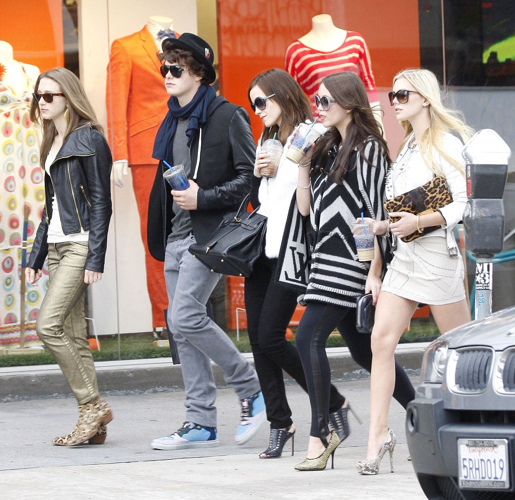 Teenage kicks: How the 'bling ring' gang used Twitter to burgle
