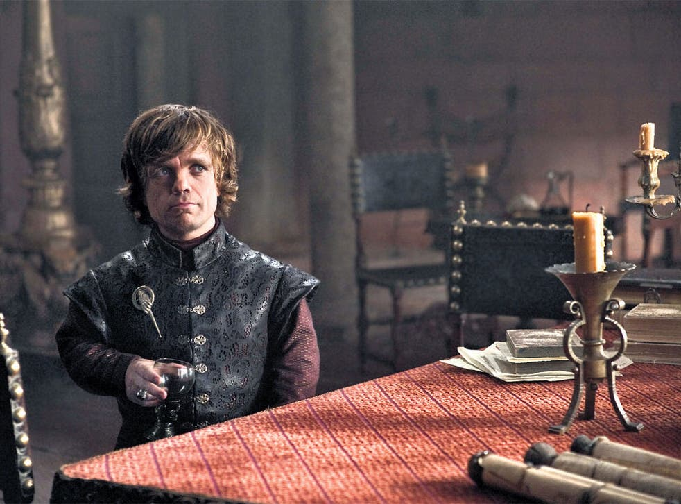 Drink and be merry: Peter Dinklage in 'Game of Thrones'