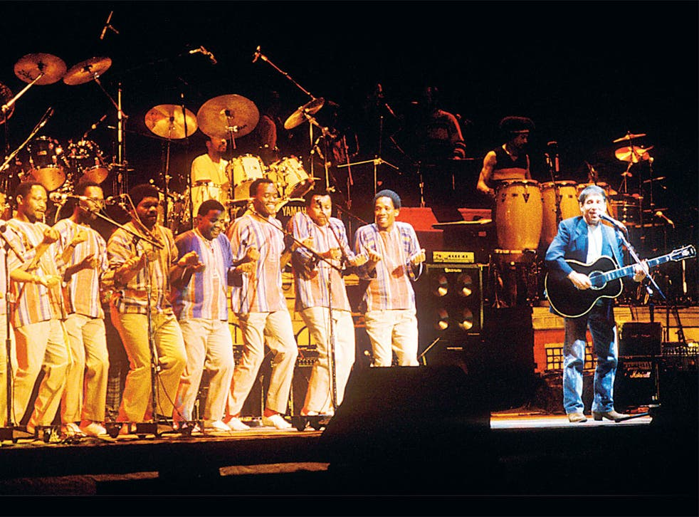 Africa express: Paul Simon performing 'Graceland' in 1987