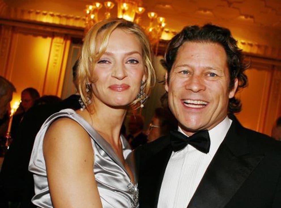 Fun guy: Arpad Busson with his movie star girlfriend Uma Thurman