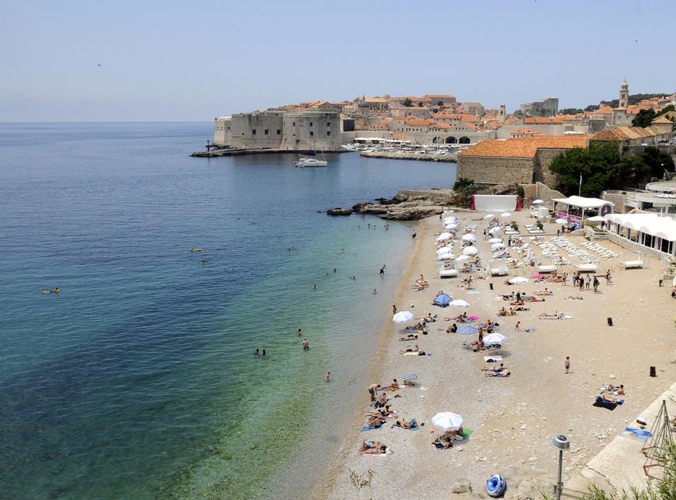 Dubrovnik's Sun Garden resort is one of the few developments allowed on Croatia's beaches