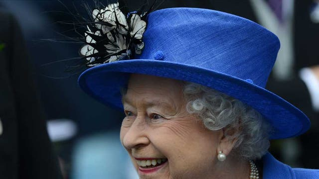 <b>2012</b> <br />The Queen enjoys a day at the Epsom Derby yesterday, during which she watched the Diamond Jubilee Coronation Cup