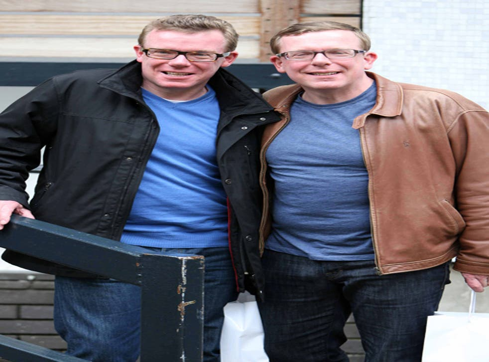 All smiles: Charlie and Craig Reid of The Proclaimers