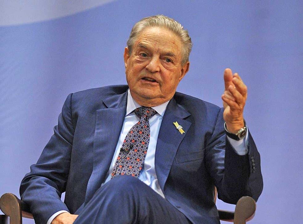 George Soros has pledged $1m for Barack Obama's campaign