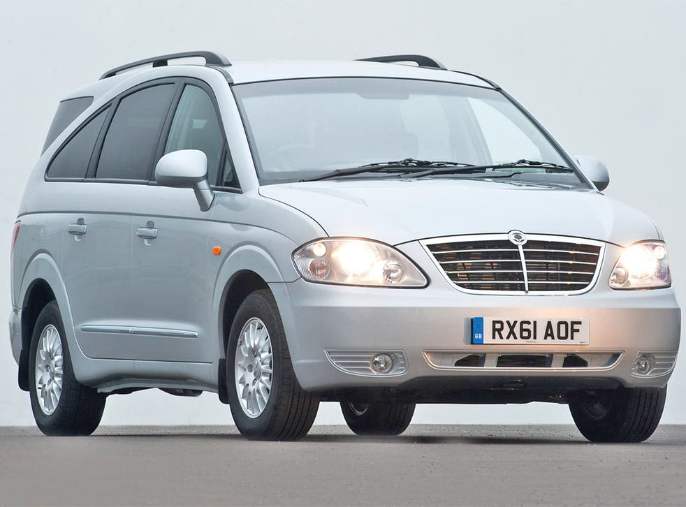 Roomy: the Ssangyong Rodius probably has the widest centre console in the business