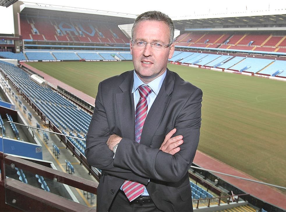 Paul Lambert says taking charge of Villa is 'an incredible opportunity'