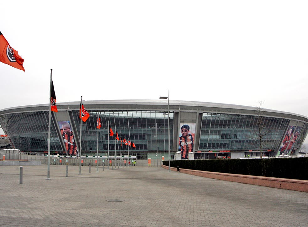 The Donbass Arena in Donetsk is in great shape for the Euros