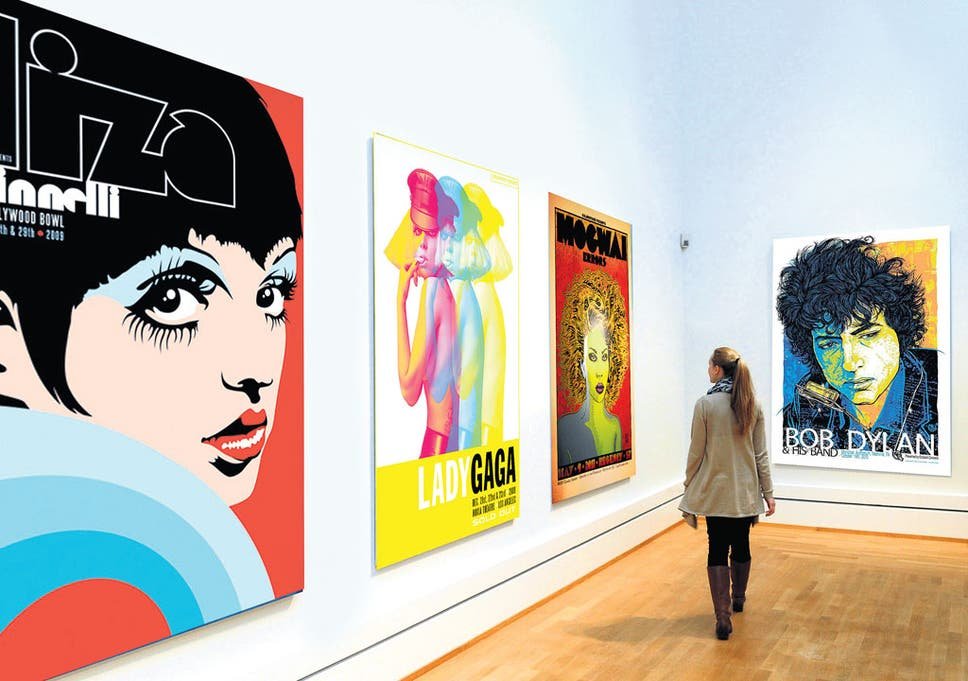 Ultimate pop art - Why gig posters are a sound investment | The