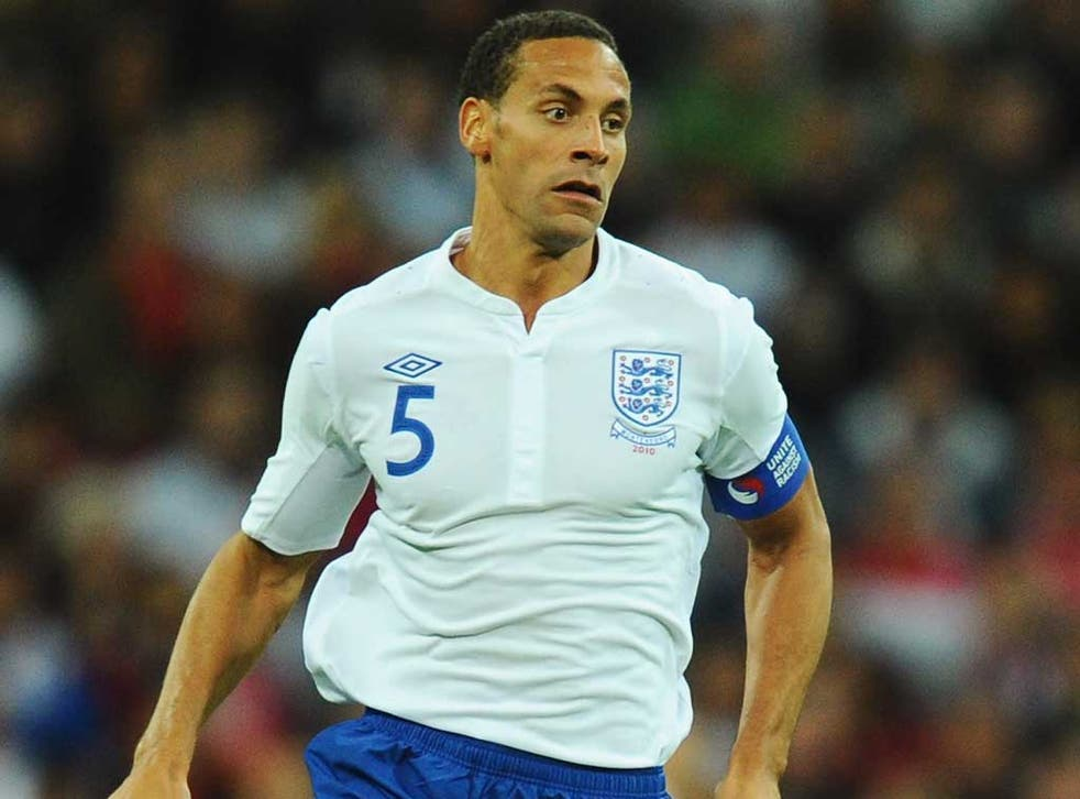Rio Ferdinand last played for England in June 2011