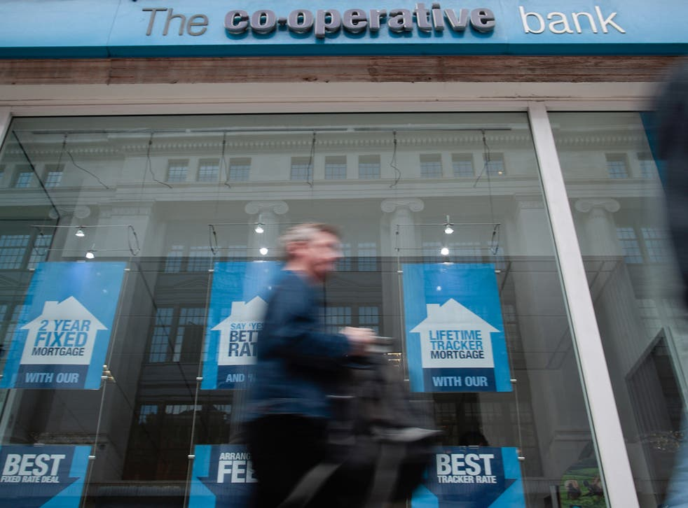 The Co-operative Bank reported pre-tax losses of £709.4m in the six months to the end of June