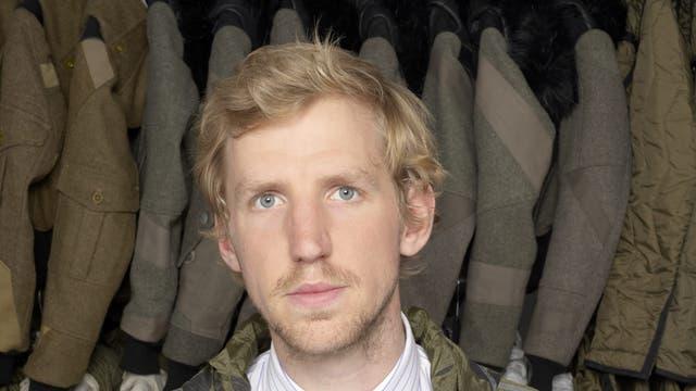 Christopher Raeburn: 'I was really excited to turn something redundant into something useful'.