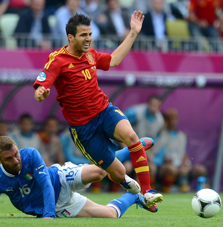 Cesc Fabregas offers reason why Chelsea won't do as well this season