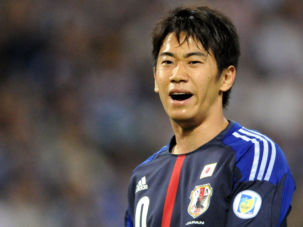 Shinji Kagawa wants to play in the hole for Manchester United
