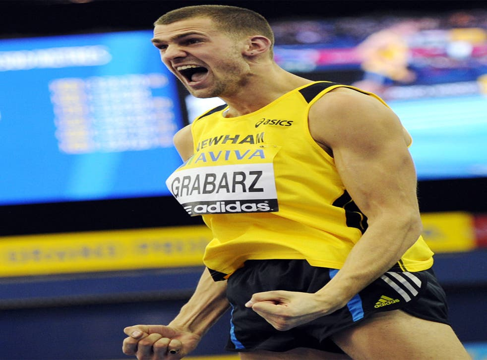 Robbie Grabarz: London gold the aim of his naked ambition