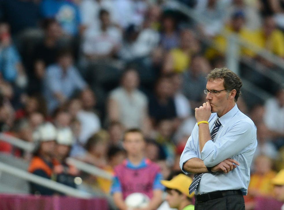 <b>Laurent Blanc</b><br/> An outside bet considering it's unlikely he will want to end his time as manager of France. In his current role he's been doing an excellent job since taking over after the 2010 World Cup. But it's that record, along with his spe