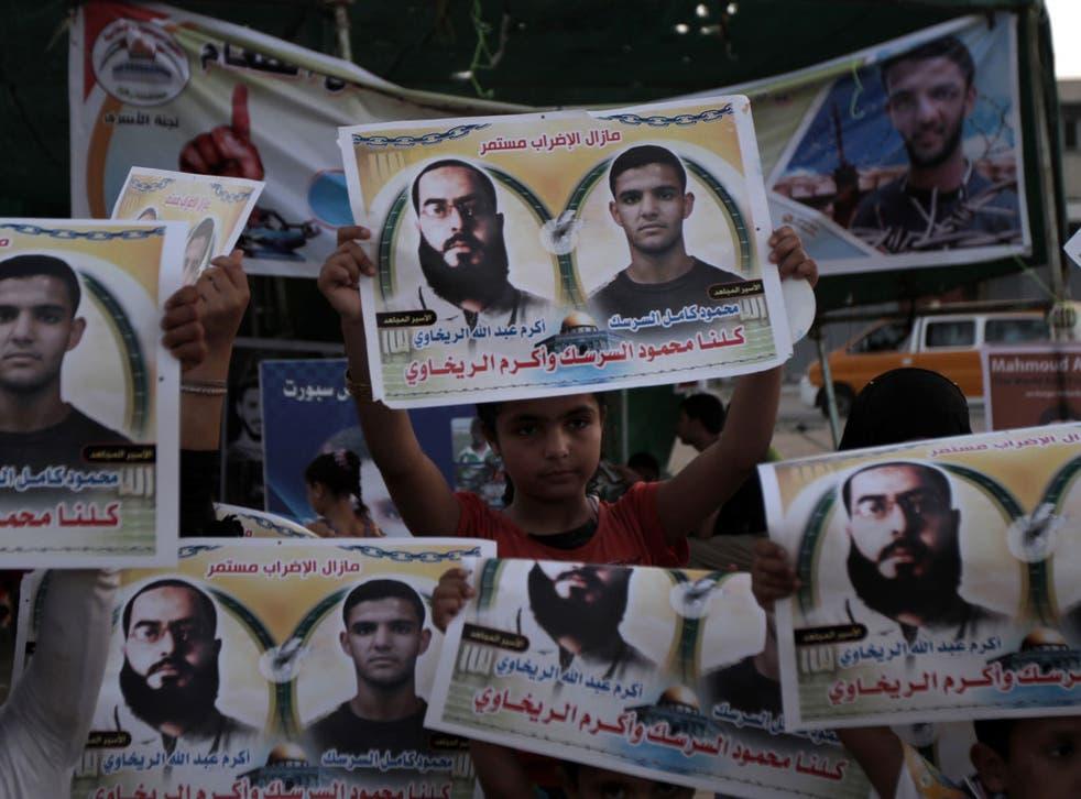 Protests over Mahmoud Sarsak