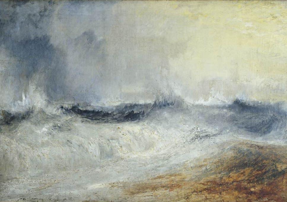 Great Works: Waves Breaking Against the Wind c 1835 (58 5cm