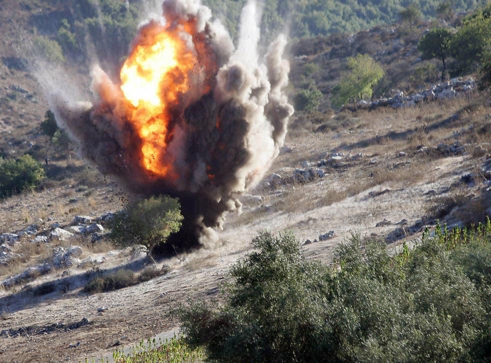 Nine UK firms still invest in cluster munitions