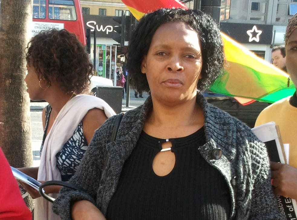 Lying low: Molly Ngaivambe was told to keep quiet