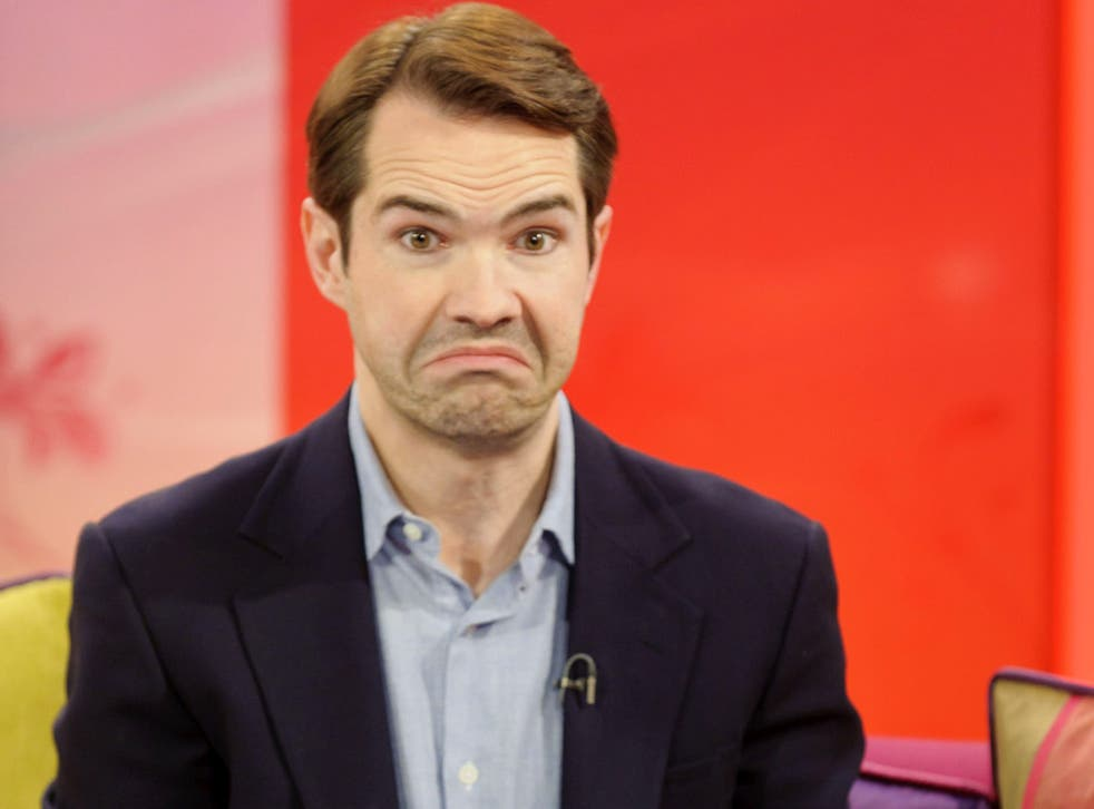 Jimmy Carr doesn't believe that he's done anything wrong