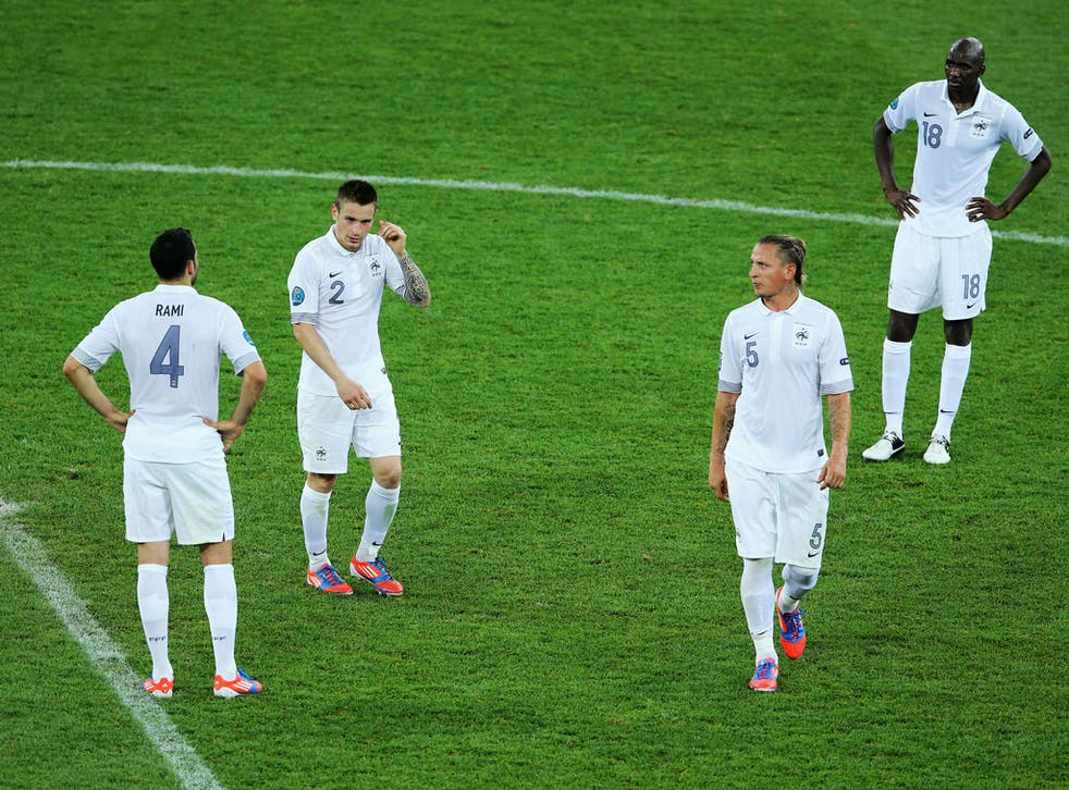 France were well below par against Sweden