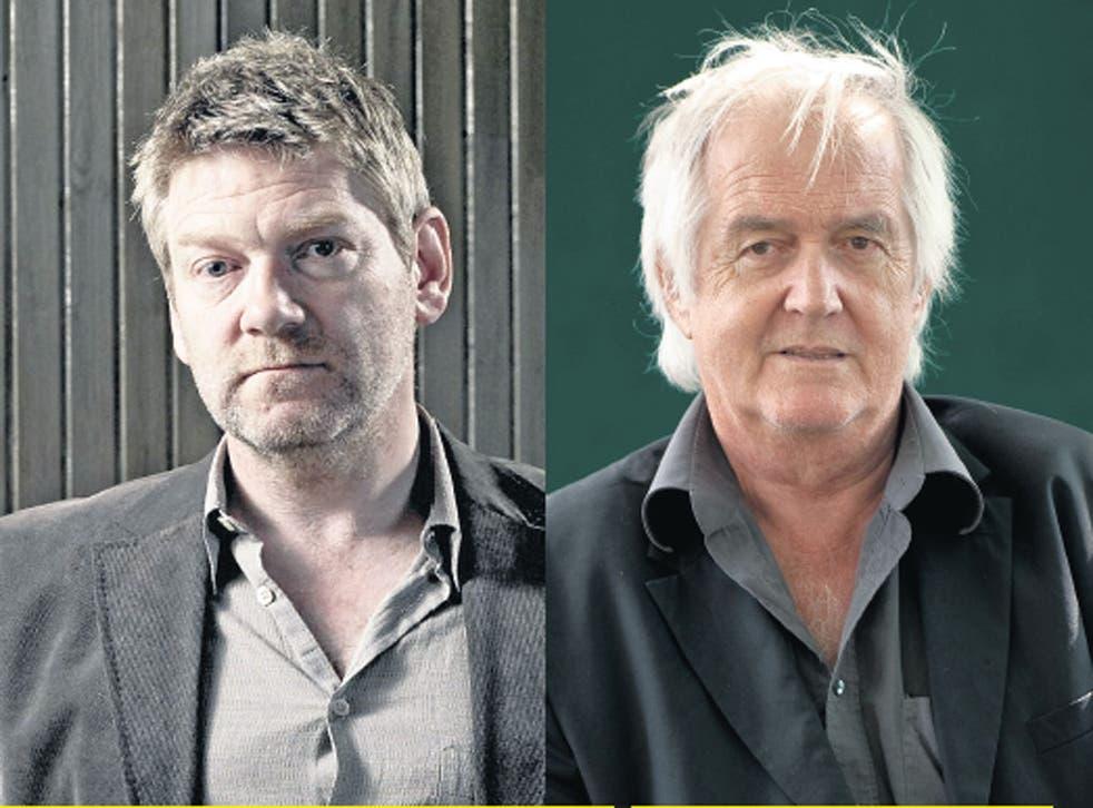Sir Kenneth Branagh and Henning Mankell