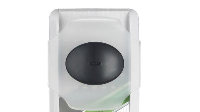 1. Oxo Julienne  <p>£7.99, dunelm-mill.com</p>  <p>Here's a little slicer that allows you to cut picture-perfect julienne strips of just about any vegetables you like. It's also easy to clean and durable.</p>
