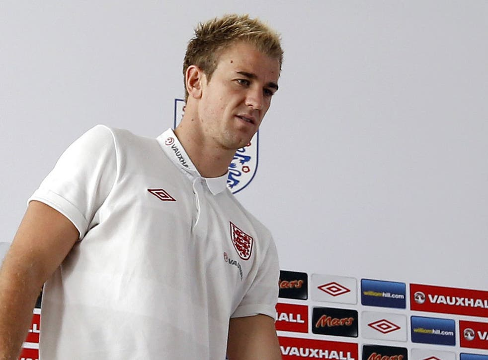 Joe Hart: The England goalkeeper says he is confident if it comes to a penalty shoot-out