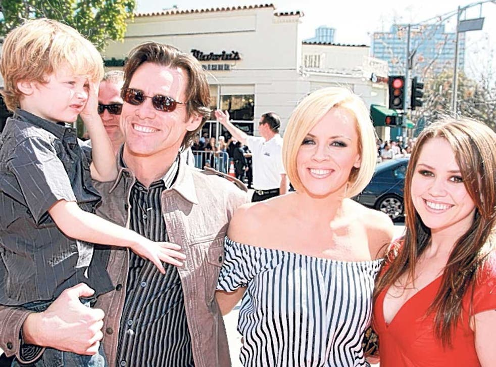 Jim Carrey and Jenny McCarthy: She's keen for him to keep seeing her son Evan