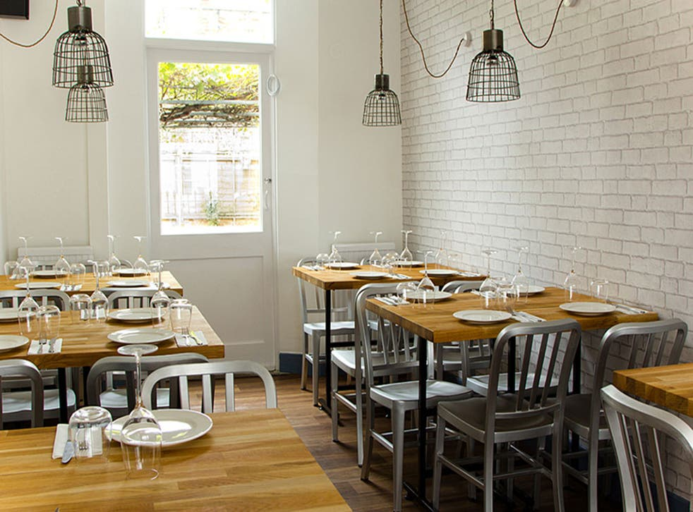 Pure and simple: Mazi claims to be the only authentic Greek eaterie in England