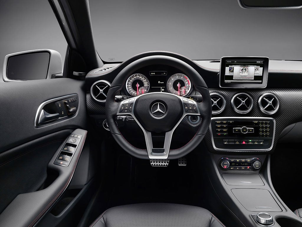 Mercedes A 200 CDI - First Drive   The Independent