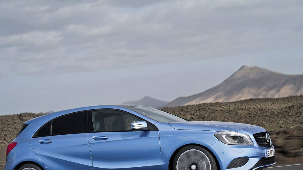 Mercedes A 200 CDI - First Drive | The Independent