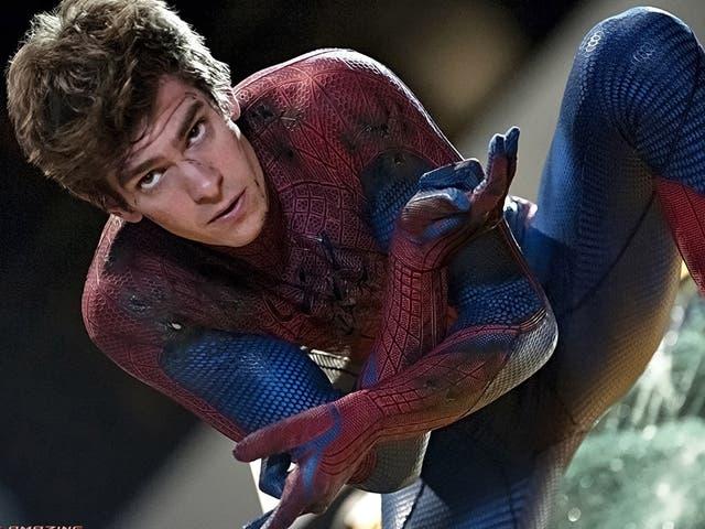 <p>Andrew Garfield as Spider-Man</p>