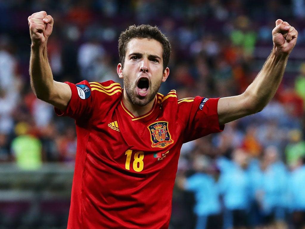 Barcelona pay £11m to take Jordi Alba back home