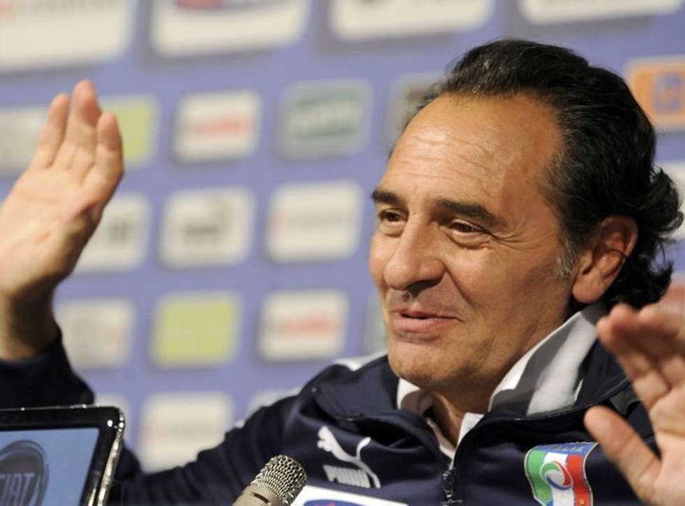Cesare Prandelli has built an Italian team with an unusually attacking style to it