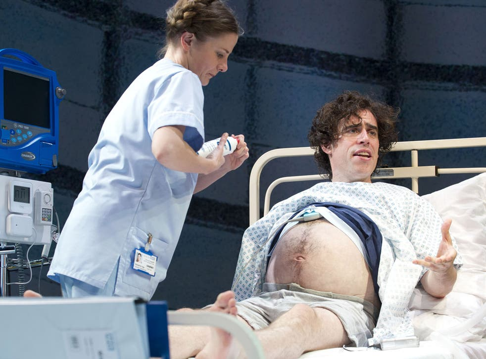 Expectant father Stephen Mangan gets a helping hand in 'Birthday'