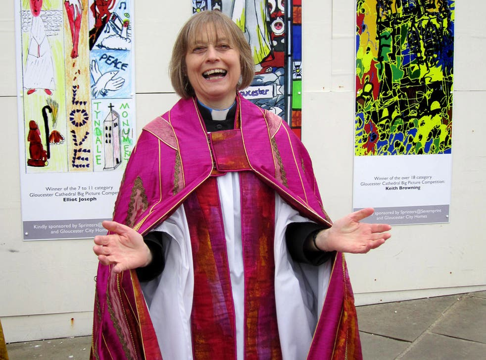 The Rev Canon Celia Thomson, who says the amended Synod Bill would discriminate against women: 'It's very distressing'