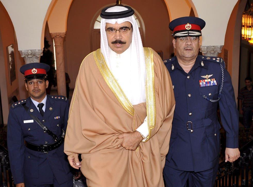Bahrain's Interior Minister, Sheikh Rashid bin Abdullah al-Khalifa, met British officials last week