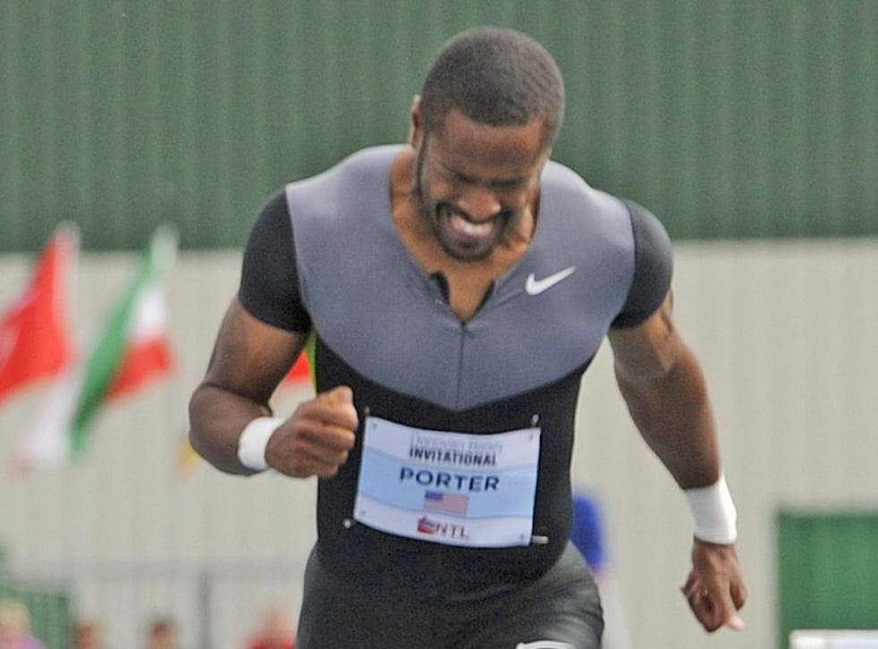 Jeff Porter ducked in with third place in the US trials