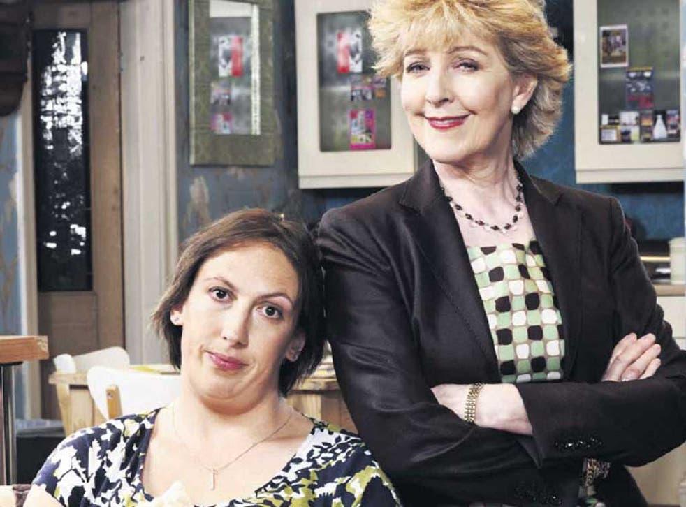 The parent trap: Miranda Hart and Patricia Hodge in 'Miranda'