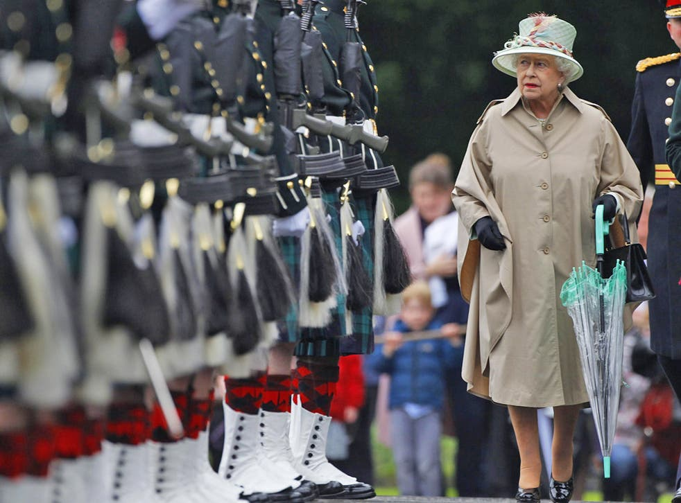 The Queen's expenditure has fallen since 2009, allowing her advisers to boast about frugality