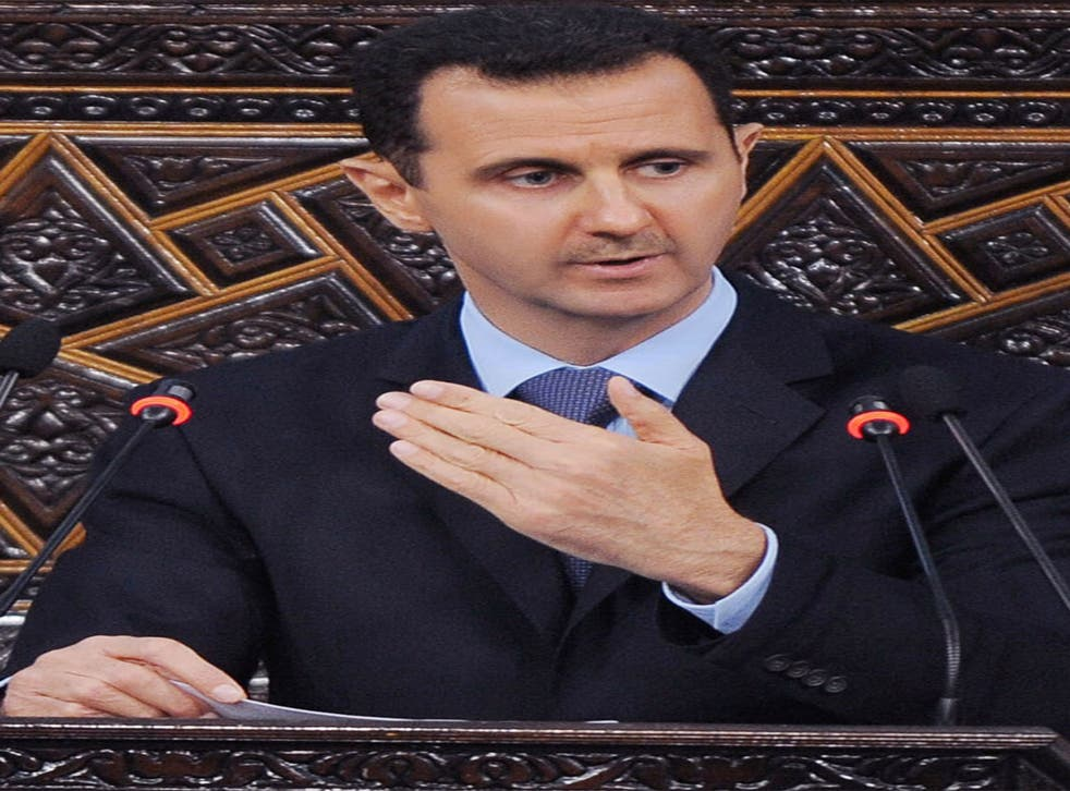 The Syrian President faces widespread condemnation