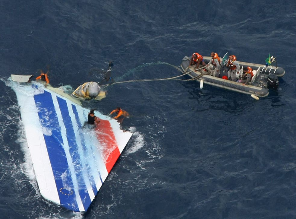 The wreckage from the Airbus A330 was found in the Atlantic 400 miles north-east of Brazil's Fernando de Noronha Island