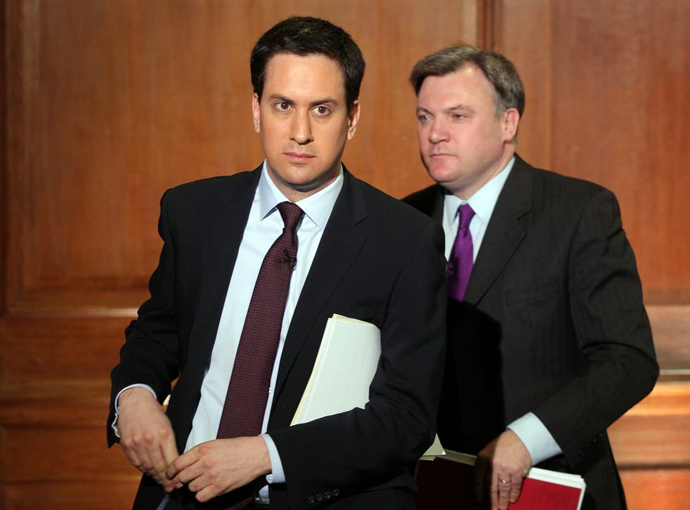 Ed Miliband and Ed Balls have been criticised by Labour's two biggest union paymasters
