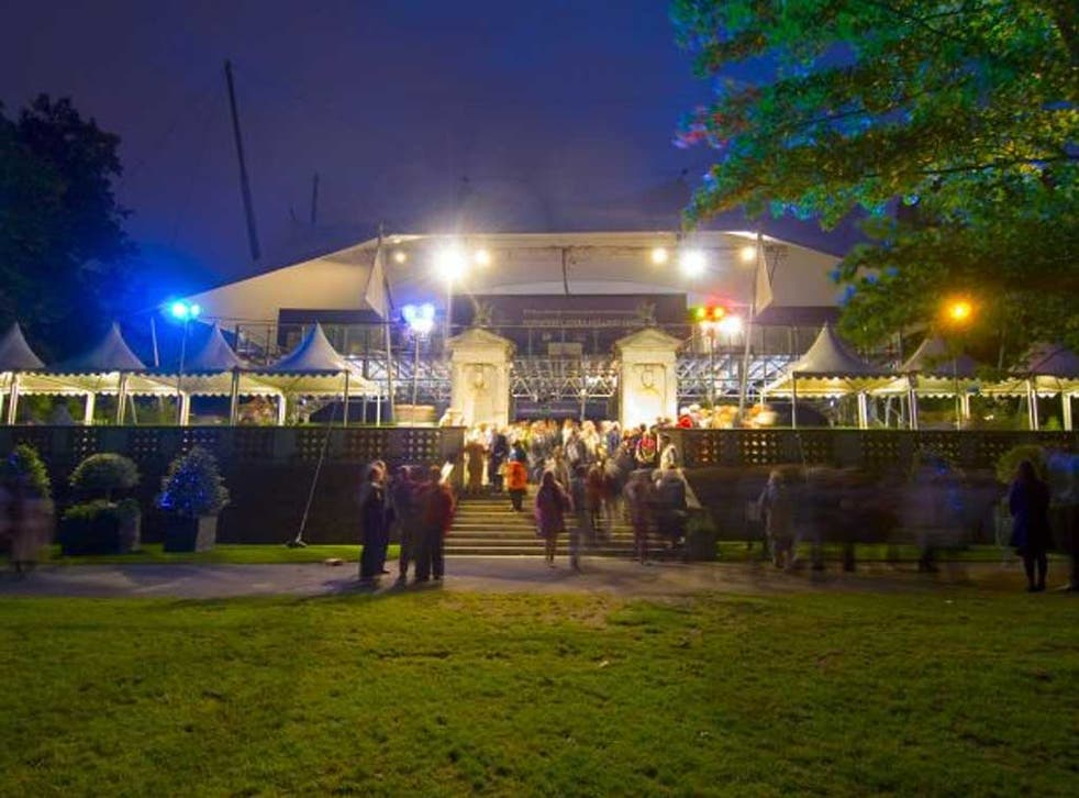 Not always great outdoors: Opera Holland Park