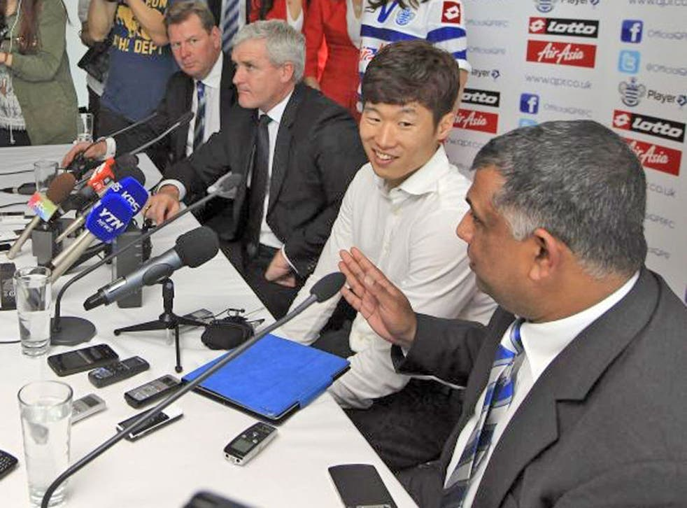 QPR claim that Park's signing will give club global appeal