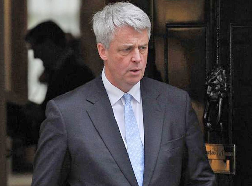 Andrew Lansley has been excluded from meeting after objecting to the government's plans to reform the NHS