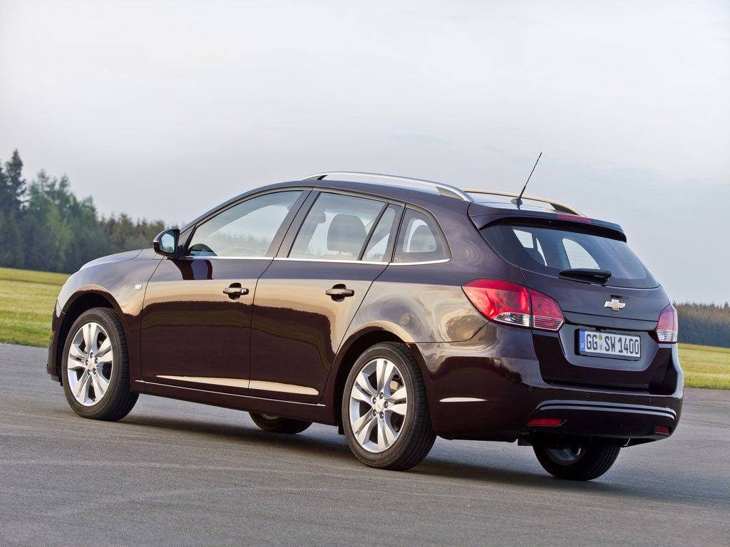 Chevrolet chevrolet station wagon : Chevrolet Cruze Station Wagon - First Drive | The Independent