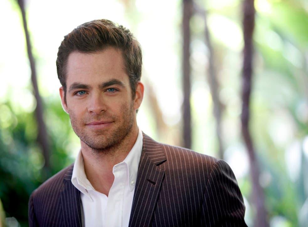 <b>Who will play Christian Grey?</b> Chris Pine 12/1